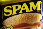 SPAM缶、当たる。