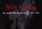 『Billie Holiday On Verve』を聴く。