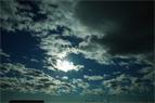嵐。残された雲たち。