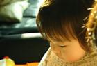 姪っ子と逆光。#02