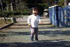 姪っ子と公園。