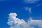 夏空と入道雲。