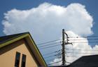 処暑と入道雲。